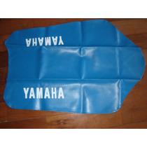 Capa De Banco Yamaha Dt 180 Azul Turqueza