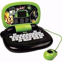 Laptop Infantil Ben 10 Candide 30 Atividades Pronta Entrega