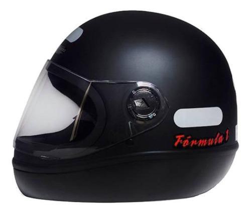 Capacete Para Moto Integral San Marino Classic Preto-fosco Tamanho 56