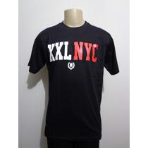 Camiseta Xxl 55 Nyc New York City Preta G Crazzy Store