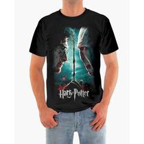 Camisa Harry Potter E Voldemort