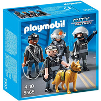 Playmobil Polícia Equipe Tática # 5565