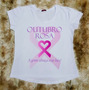 Camiseta Feminina Rosa Outubro Coração Promoção
