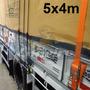 Lona Encerado Premium Algodão 5x4 Mts Ripstop Caqui Truck