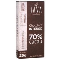 Chocolate Intenso 70% Cacau Orgânico Sem Glúten/lactose