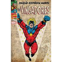 Coleção Histórica Marvel Vingadores # 1 A 4 Completo Lacrado