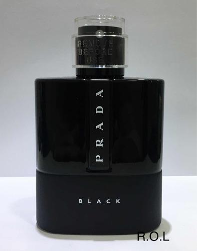 Prada Luna Rossa Black 100ml Original Tester. R  319 06add3da8b