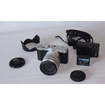 Fujifilm X Series X-m1 16.3 Mp - Silver (lente Xc 16-50mm)