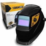 Máscara De Solda Automática Msea-901 C/ Reg Kab-solar Tork
