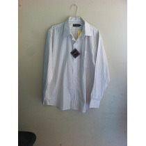 Camisa Masculina Branca Colombo Com Etiqueta