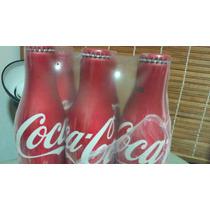 Garrafa Coca-cola De Alumínio - Pack Com 6 Pçs