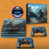 Skin Adesivo Playstation 4 Pro Ps4 Pro God Of War