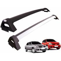Rack Teto Bagageiro Em Aluminio Clio 4 Portas E Clio Sedan