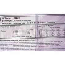 Junta Cabecote Gm Monza/kadett 1.8 - 86/ Faseii Gasolina