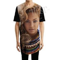 Camiseta Camisetao Masculino Oversized Longline Swag Beyonce
