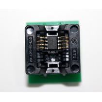 Adaptador P/ Gravadora Bios Eprom Soic8 Sop8 P/ Dip8 150mils