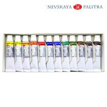 Estojo Aquarela White Nights 12 Cores 10ml - Nevskay