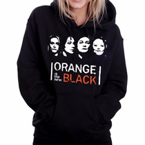 Moletom Orange Is The New Black Canguru Com Capuz