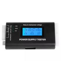 Testador De Fonte Atx Digital Lcd Sata Ide Tester Supply Pro