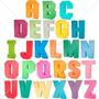 Letras 3d Silhouette Alfabeto + 10 Numeros + Brinde