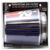 Filtro De Ar Esportivo K&n K N Duplofluxo Rg-1001 Azul