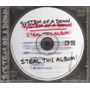 Cd - System Of A Down - Steal This Album