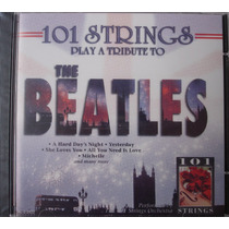 Cd - The Beatles - 101 Strings Play A Tribute To - Lacrado