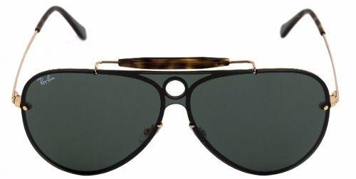 4cd5de38f Óculos De Sol Ray-ban Blaze Shooter Rb 3581-n 001/71 140 3n