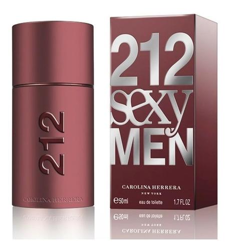 Perfume Carolina Herrera 212 Sexy Masculino 100ml + Amostra