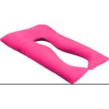 Travesseiro Gestante Para Amamentação Formato Em U +com 2 Fronhas Promoção Barato O Melhor Preço Com Nf