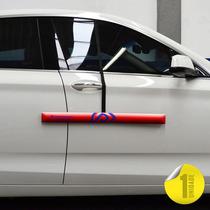 Protetor De Porta De Carro - Proteporta Vermelho - Unidade