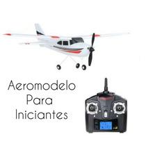 Aeromodelo Avião De Controle Remoto Pronta Entrega