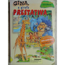 Livro Gina, A Girafa Prestativa Interativo Quebra-cabeça