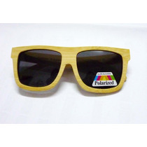 Óculos De Sol Bambu & Madeira Lente Fume 40% Desc.