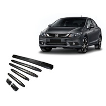 Kit Protetor Borrachao Sem Logo Parachoque New Civic 2015
