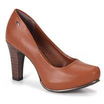 Sapato Scarpin Feminino Dakota - Castanho