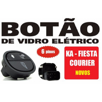 Botão Vidro Elétrico Ka 2008 Diante 6 Pinos - 58025