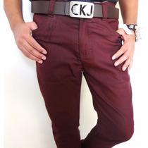 Calça Jeans Masculina Calvin Klein Masculina Skinny Lycra