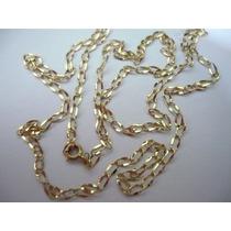 Cordões De Ouro Masculino 60cm3gr2x4