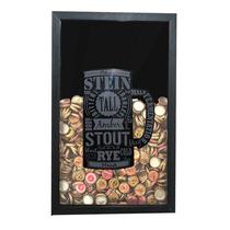 Quadro Para Tampinha Decoração Bar Casa - Caneca Cerveja