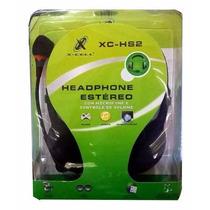 Fone De Ouvido Estereo Com Microfone Headphone X-cell Xc-hs2