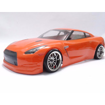 Carro Himoto Nissan Gt-r Brushless Lipo 1/10 Drift 2.4ghz Rc