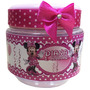 10 Potinhos De Papinha Personalizados Minnie Rosa. Minie