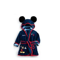 Roupão Infantil Minnie Mikey Banho Psicina Disney Cobertor