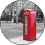 Quadro Personalizado Em Vinil, Cabine Telefônica, Inglesa