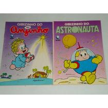 2 Gibizinhos Astronauta Nº 2 E Anjinho Nº 5 Antigas. Globo