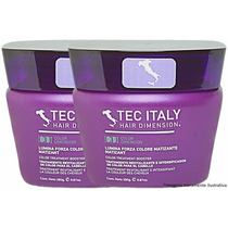 Kit Com 2 Máscaras Lumina Forza Colore Matizadora Tec Italy