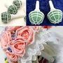 Suporte Para Bouquet Buquê De Noiva Com Espuma Floral