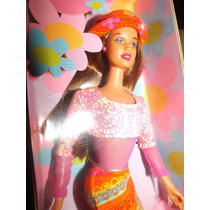 Barbie Teresa Latina Flower Power Antiga