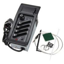 Captador Violão Pre Amplificador Completo Com Eq Envio Rápid